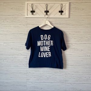 Modern Lux | Dog Mother Wine Lover Tee